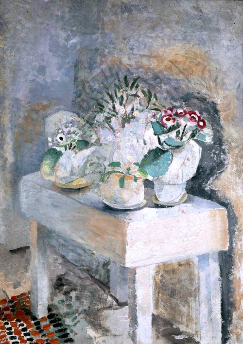 bofransson:  Winifred Nicholson, Flower Table 1928-9
