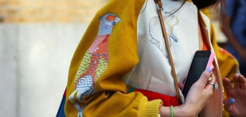 rabbit or quail? Tommy Ton street style