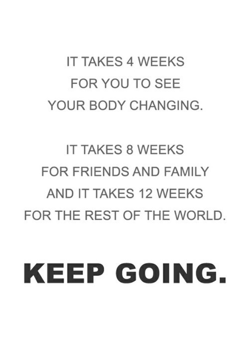So true … keep going!!!