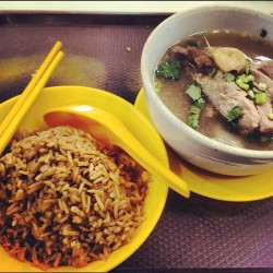 Today's Lunch: Bak Kut Teh! #sgfoodie #sgfood (Taken with Instagram)