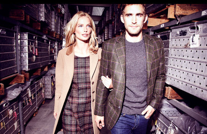 boden:  (via Beautiful British Tweed from Boden)  Love