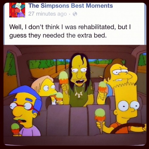 new-noise:  Gold. #simpsons (Taken with Instagram)