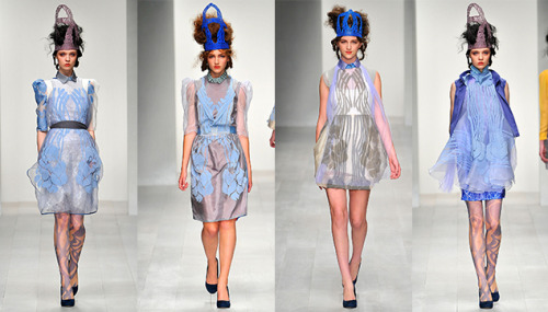 Styloko Blog: LONDON FASHION WEEK SS13: BORA AKSU