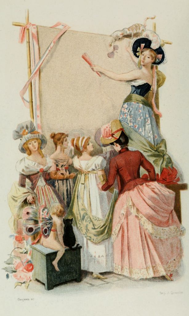 in-the-middle-of-a-daydream:  1886 Fashion Illustrations in Water Colors by Albert Lynch