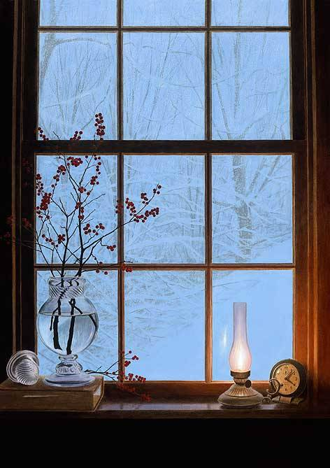 Alexander Volkov - Winter Window