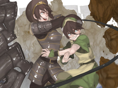 (via Toph and Toph by ~gyehu on deviantART)