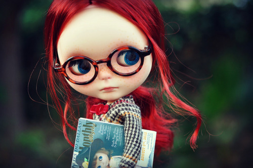 Little Book Worm by KrazyKranium on Flickr.