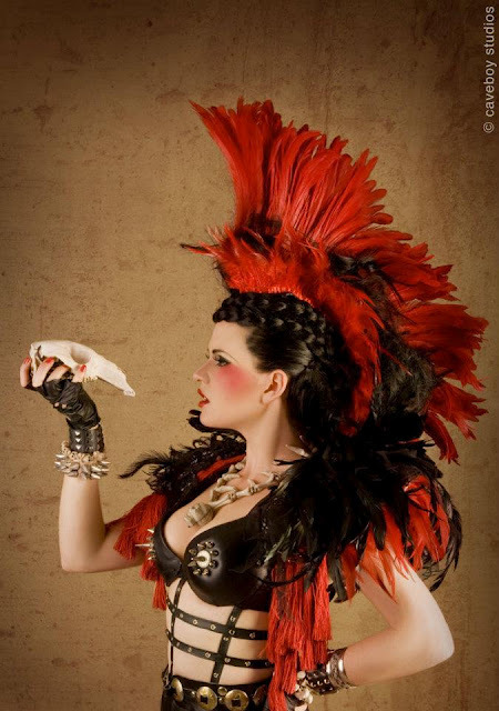 "pixieneverland:   My homage to Rufio, leader of the Lost Boys from the film ""Hook"" by Jess Daly  I don't really like Hook, but this is totally amazing!!!! Fly to Neverland with me"