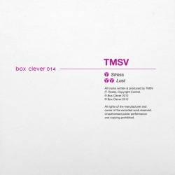 "Finally got around to listening to TMSV's ""Stress / Lost"" release on Box Clever. Gotta say it's a trully perfect record. Both could very well rival Pinch or Mala tunes. Get it here or here. soundcloud.com/tmsv"