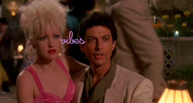 jeff and cyndi love-fest all the way. <3 what a movie.