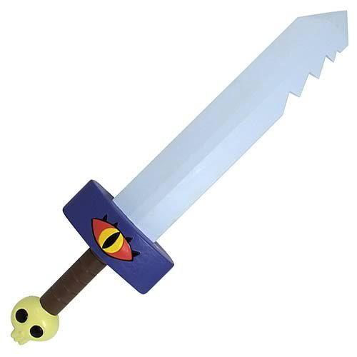 "Just in time for Halloween, here's a 24"" Adventure Time sword You can pre-order now, and the sword will be available later this month. If anyone gets one of these, please take pics and submit kthx. Product link"