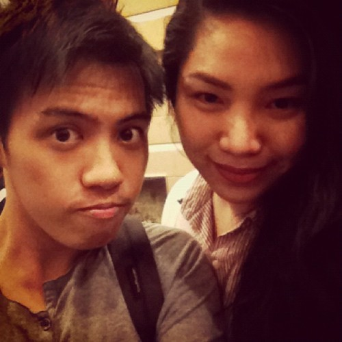 With @maxiiieee na ang witty tonight (Taken with Instagram)