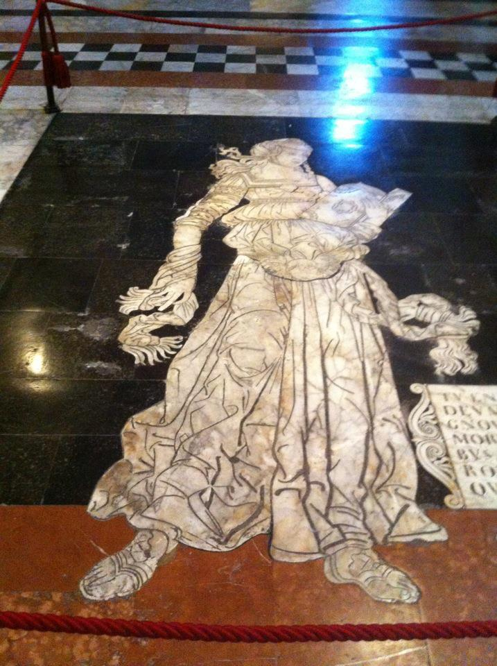 Mother's submission 4: The magnificent marble floor of Siena Cathedral. Normally covered, exceptionally on display until the 24th of October.