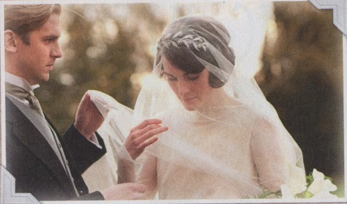 beckyrenee:  Lady Mary's wedding album in the Radio Times(Thanks to Orangeshipper for the heads up!)
