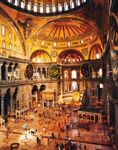 condenasttraveler:  City of the Senses | Hagia Sophia, Istanbul, Turkey