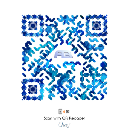A new way to share music. Scan and enjoy Rameses B!