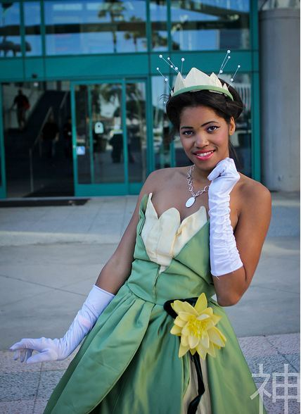 X Character: Princess Tiana Series: The Princess and The frog