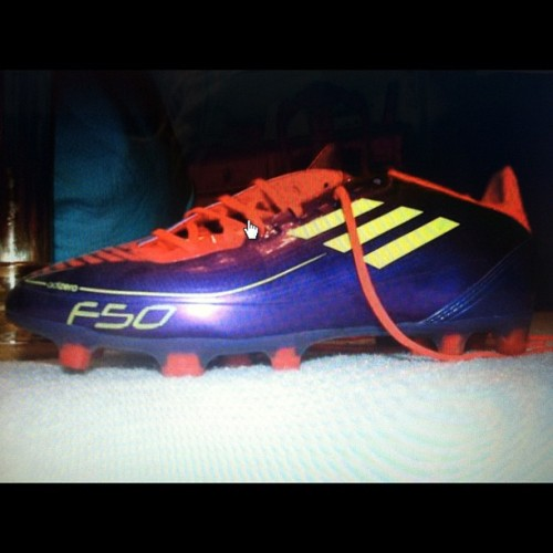#nofilter *FOR SALE* Adidas F30. Bought them for $90.00, selling them for $59.99. Only briefly used; didn't like the way they felt on my feet even though they're an excellent brand. (704)591-0198 size 7 mens. (Taken with Instagram)