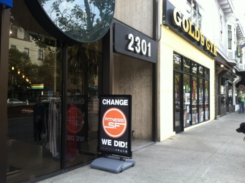 "GOLD's GYM San Francisco Bay Area, Now Fitness SF, Cuts Ties With Parent Company After CEO's Anti-LGBT Donation The Huffington Post reports:  A group of San Francisco Bay Area Gold's Gym franchises has relinquished affiliation with its parent company in protest against the CEO's substantial 2010 donation to a conservative organization with anti-LGBT ties. The franchise group is now calledFitness SF.The group is privately owned and includes four gyms located in Oakland, Marin and San Francisco's SoMa and Castro Districts, and has long been a pillar of the LGBT community. The group regularly donates to LGBT organizations, and the Castro location often participates in the San Francisco Pride Parade.The Huffington Post reported on the donation and the backlash in 2010 when Gold's Gym CEO Robert Rowling gave $2 million to American Crossroads, a conservative political group founded by former Bush advisor and Deputy Chief of Staff Karl Rove.At the time, Gold's Gym Bay Area Director of Operations Don Dickerson released a response to the news on the company's Facebook page, condemning the move and vowing to sever ties when the group's contract expired:We were as surprised by [CEO] Mr. [Robert] Rowling's action as anyone but because our company believes in and lives up to the ideals of equality for all we are going to take the following actions:1: Our contractual obligation with Gold's Gym expires on September 15th, 2012 and on or prior to that date (our legal counsel is reviewing our options) we will leave the Gold's Gym brand. It is a major initiative to create a new brand and leave Gold's Gym which has been our identity for over 20 years but we will begin that process today.2: For every dollar we pay Gold's Gym in franchise fees we will donate an equal or greater amount to LGBT charities. While we donate much more than this to charities and community groups that support the LGBT community we want to make a commitment to match or exceed this amount until our relationship with Gold's Gym can be severed.3: Our management and staff will continue to support LGBT causes in every way possible and we will use our business as a platform to fight for change and equality for everyone. We have always taken great pride in being a leader in the LGBT community and we will continue to.After the 2010 backlash, Gold's Gym quickly sent HuffPost a statement:Gold's Gym did not make a donation to American Crossroads (or any other political organization) and in no way supports anti-gay causes. Quite the contrary, the Gold's Gym family has been strong supporters of the LGBT community over the years. This includes supporting PRIDE events, sponsoring LGBT media outlets and donating to various LGBT charities in the communities we serve.Gold's Gym is a non-political organization and our member's dues are not used to fund political candidates. Bob Rowling, the CEO of our ownership group, TRT Holdings, made a private donation completely independent from (and not on behalf of) Gold's Gym.Nevertheless, Gold's Gym Bay Area and LGBT activists were unmoved. A Change.org petition condemning the donation noted that money gained from Gold's Gym was funding Rowling's donation.""Using both his corporate and personal bank accounts, Rowling has given upwards of $2 million to Karl Rove's new organization, American Crossroads,"" stated the petition. ""In turn, that money has been used to support some of the most virulently anti-gay politicians in the country.""The petition soon gained nearly 10,000 signatures.Now that the September 2012 deadline has approached, Dickerson and Gold's Gym Bay Area have kept to their word, changing the company's name and branding, and severing all ties with Gold's Gym. ""Very rarely in a situation like this does a business stand up and actually take a position on the matter, which is why I think people have been so happy that we've taken this course of action,"" said Dickerson to CBS. ""Our company has worked for over twenty years to support our LGBT staff, members and community in everyway possible and we will continue to."""