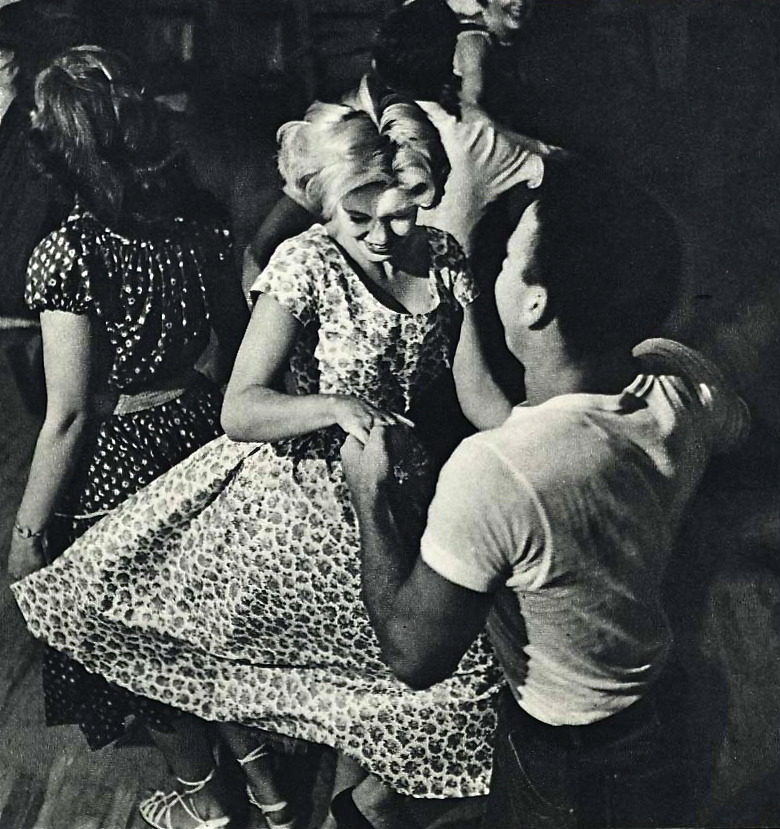 hollyhocksandtulips:  Dance with me, c. 1955