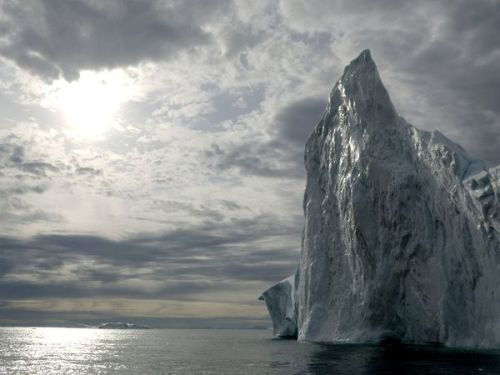 glistening iceberg -greenland                           photo by james balog