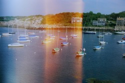 Boats in Rockport. Shot on a Canon AE-1. 400 film.