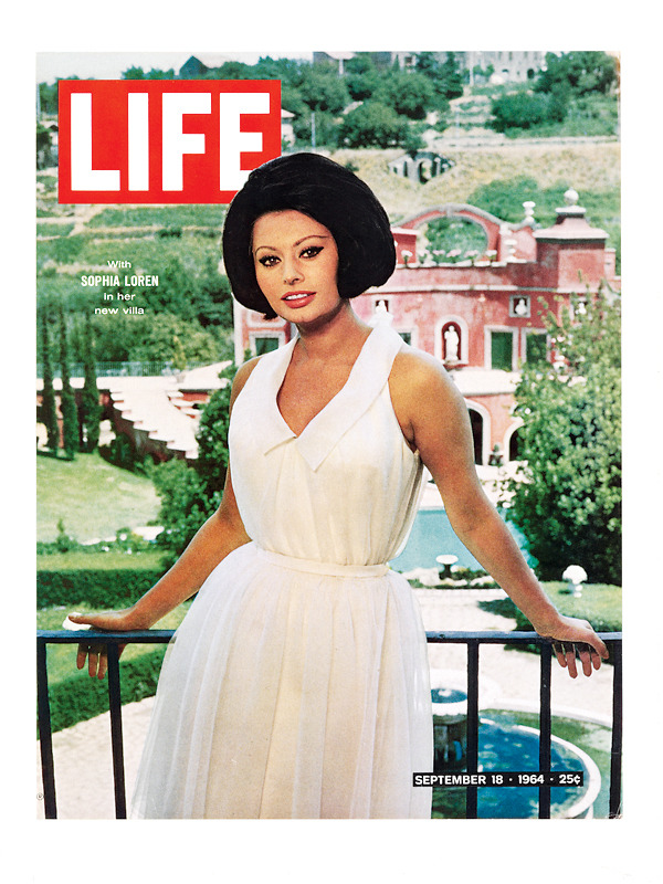 life:  On this day in LIFE magazine — September 18, 1964: With Sophia Loren in her new villa See more photos here.