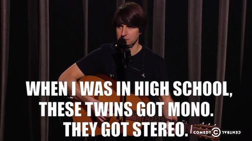 comedycentral:  Demetri Martin: Standup Comedian premieres Saturday, September 29 at 10/9c. Click the image to watch a clip.