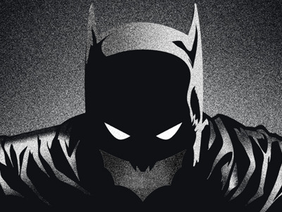 fuckyeahbatman:  (via Dribbble - The Batman by eric garza)