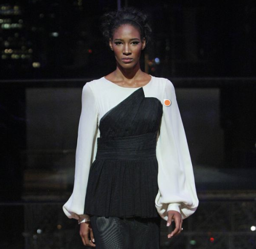 Kicked out of the orphanage and onto the runway: Meet New York Fashion Week's most extraordinary catwalk star    When Mendez was 13, her mother left her at Orfanato Niños de Cristo orphanage in the town of La Romana, after deciding she could no longer take care of all her children. Since she was abandoned by her mother, Miss Mendez has had no contact with her family, and at 21, she became too old to remain at the orphanage. But a good friend of the organization's founder, Sonia Hane, offered to take her in so she could learn English in New York City.This turn of events led to a meeting with a casting agent, and an opportunity to walk the runway during New York Fashion Week.Fior Mendez, 22, walked the runway on Friday Septemeber 7th for the first time at Lincoln Center for Nzinga Knight, an American Muslim designer with a Caribbean background.