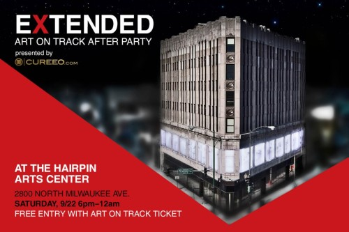 I have work in this show, come hang out! (via After Party : Art on Track)