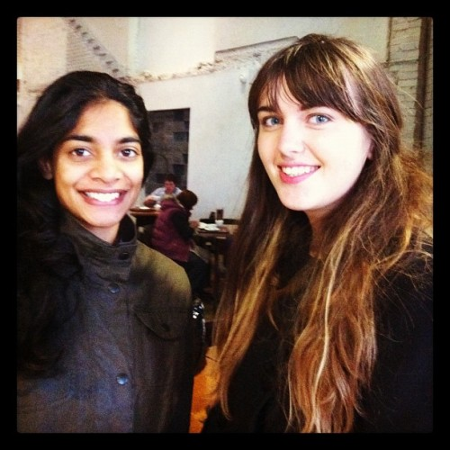 thatwhichmakesyoudifferent:  Just met Amara Karan (Rita from the God Complex) yay! #doctorwho #thegodcomplex (Taken with Instagram)