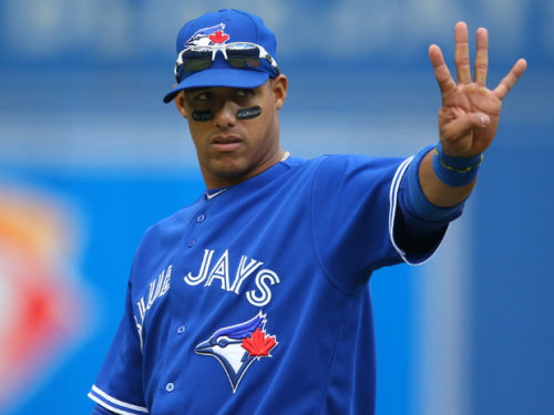 "Canada: Toronto Blue Jays' Yunel Escobar Is A Homophobe ""Pendejo"" The National Post reports:  Toronto Blue Jays shortstop Yunel Escobar has sparked an online furor and an investigation by Major League Baseball after he wore eye-black tape inscribed with a homophobic slur during Saturday's game at the Rogers Centre.A close-up photo posted on Twitter by Toronto resident James Greenhalgh shows the words ""TU ERE MARICON"" — Spanish for ""You're a faggot"" — printed in white on the black tape Escobar was wearing below his eyes. The phrase was also visible in a photo that moved to media outlets on Saturday by Getty Images' wire service.MLB spokesman Pat Courtney told The Canadian Press the commissioner's office is investigating. The Blue Jays issued a statement saying they do not ""condone"" Escobar's message and will address the issue at a news conference Tuesday afternoon in New York, where the team opens a three-game series that night.""The Toronto Blue Jays do not support discrimination of any kind nor condone the message displayed by Yunel Escobar during Saturday's game,"" the statement read. ""The club takes this situation seriously and is investigating the matter.""The statement said general manager Alex Anthopoulos, manager John Farrell and Escobar will attend the news conference, along with coach Luis Rivera, who often serves as translator for the club's Spanish-speaking players.Several messages seeking comment from Anthopoulos were not immediately returned.Greenhalgh made the photo public on his Twitter feed (@james_in_to) on Monday. He linked to a close-up shot he had posted on his Flickr page along with a commentary in which he said Escobar is one of his favourite Blue Jays and he initially felt ""conflicted"" about making the photo public.But he concluded that the photo needed to be circulated and that Escobar needed to learn a lesson from the fallout.""This is something Escobar wore on the field,"" Greenhalgh wrote. ""He knew the possibility that a member of the Red Sox noticed it and commented on it, or even the umpiring crew. This is a bad word. It's a homophobic slur. It may have made a closeted Blue Jay/Red Sox very upset inside. There are a million insults he could have used that would have been funny, this was not one of them … This was a mistake I hope he learns and he will never make again.""The photo generated a flurry of responses on Twitter, mostly critical of Escobar, some urging that he be suspended for the rest of the season, some urging fans to reserve judgment until ""context"" became available. Others speculated that he had been pulled from Sunday's lineup as a disciplinary measure.Escobar, 29, was originally in Sunday's starting lineup, but then scratched before game time. A club spokesman said he had the flu.Greenhalgh, who posts many photos of Blue Jays, wrote on his Flickr page that he has ""a privileged seat near the Blue Jays dugout [that] allows me a close-up of some pretty awesome moments. This one, however, is really disappointing.""Saturday's game was televised nationally on Sportsnet, although no one seemed to notice Escobar's eye-black message until the still photos were published.  UPDATE: The Blue Jays have issued an statement:  The Toronto Blue Jays do not support discrimination of any kind nor condone the message displayed by Yunel Escobar during Saturday's game. The club takes this situation seriously and is investigating the matter.Alex Anthopoulos, Sr. VP Baseball Operations and General Manager will be available to the media tomorrow afternoon at Yankee Stadium and we expect him to be joined by Yunel Escobar, Manager John Farrell and Coach Luis Rivera. Details and location for the media availability will be announced tomorrow."