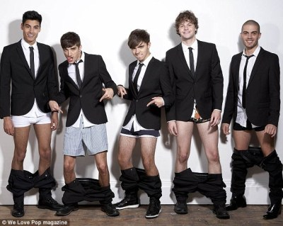 The Wanted for the latest issue of We Love Pop magazine