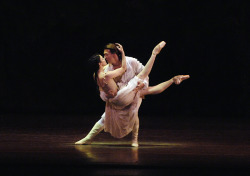 "brokenmosaic:  Alessandra Ferri & Julio Bocca, ABT I don't know if is ""Romeo and Juliet"" or ""Manon"".  Looks like Manon"