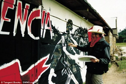 First Ever Confirmed Pic of Banksy | Daily Mail