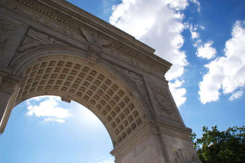 Washington Square Park Arch, New York City.