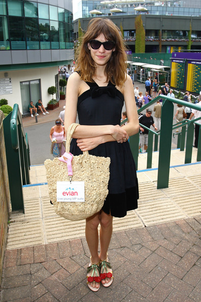 Dress: Orla Kiely Shoes: Miu Miu Bag: Topshop