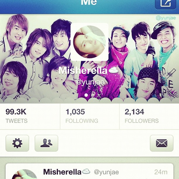Changed header :) my top1s :) #tvxq #bigbang (huhu dae's face got blocked) (Taken with Instagram)