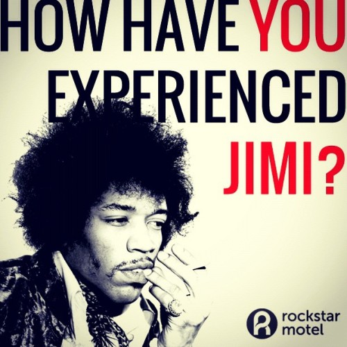 42 years later and we still miss you, Jimi! How has Jimi shaped your life?  (Taken with Instagram)