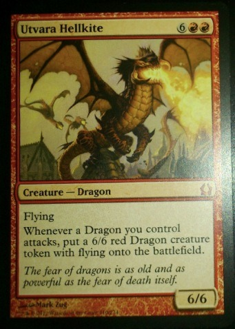 Another Magic the Gathering - Return to Ravnica Spoiler … To Dragons, most armored knights must seem like canned food. Got any Dragon joks anybody, I'm dry here.