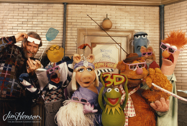 i-cangothe-distance:  Promotional picture for Muppet Vision 3D