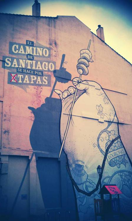 Cool Graffiti in Logroño, La Rioja, Spain.