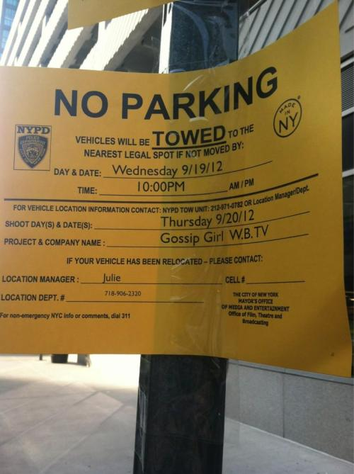 meganj487: Gossip Girl is filming in LIC next wed. & thurs!!!!!