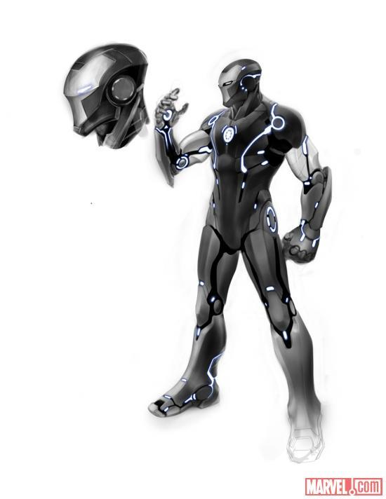 Marvel NOW! 'Iron man' Concept Art Reveals New Armor Marvel continues to prepare readers for their upcoming wave of titles to be released under the Marvel NOW! banner with the following concept art from new Iron Man series. As a character who's no stranger to wearing many different variations of armor, Tony Stark will be donning two very different Iron Man suits in the first few issues of the new title. Series writer Kieron Gillen explains that Iron Man will often be wearing a one of several different suits of armor depending one which is better matched to handle whatever situation or adversary he's confronted with. What do you think of the new suits?