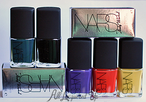 New on ALU - The NARS Andy Warhol nail polish collection. New York Dolls (the purple) is so my jam. You've gotta check it out