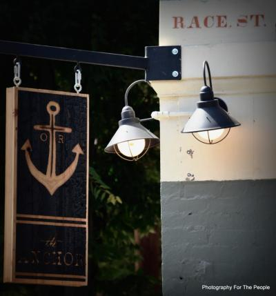 "Some more signage we designed and fabricated for The Anchor in OTR. Photo credit goes to ""Photography for the People"""