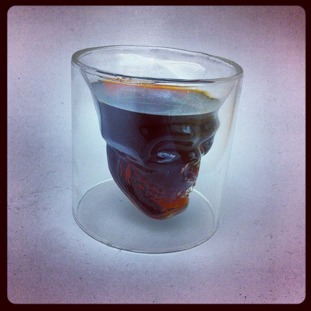 This #skull #shot #glass is one of my #favorite pieces in the #inked #shop. Especially when filled with #jager #jagermeister! #skulls #tattoo #tattoos #alcohol #drinking #liquor (Taken with Instagram)
