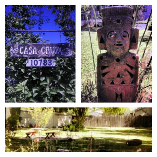 Gave my grandma's yard a now :) (Taken with Instagram)