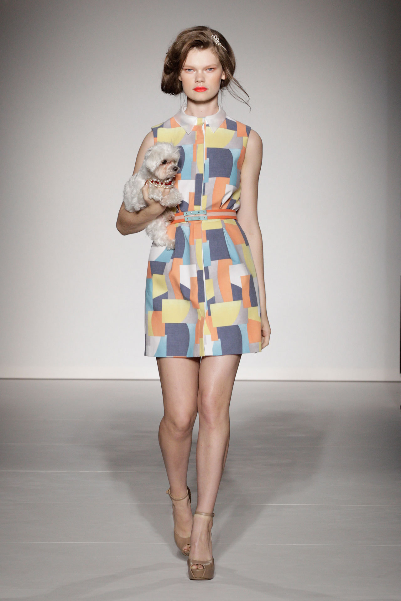 Kelly Mittendorf - Ashley Isham Spring/Summer 2013